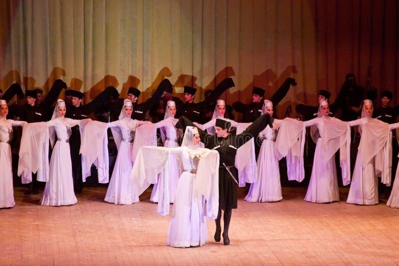 Sukhishvili Ballett stockfoto