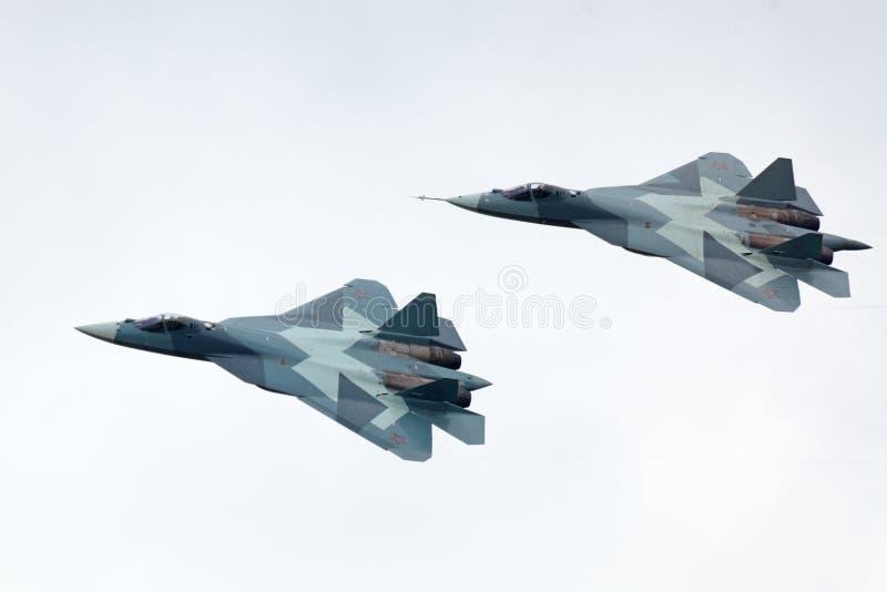 Sukhoi PAK fa T-50 photographie stock