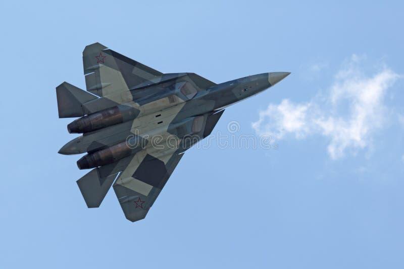 Sukhoi PAK fa T-50 photos libres de droits