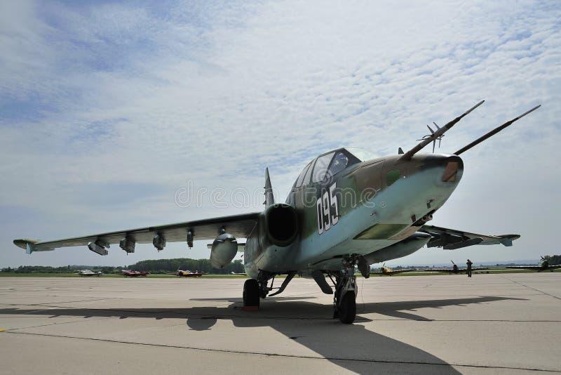 Sukhoi SU-25UBK photo stock
