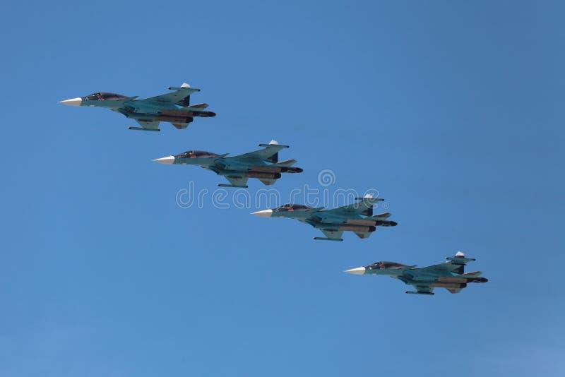 Sukhoi Su-34 image stock
