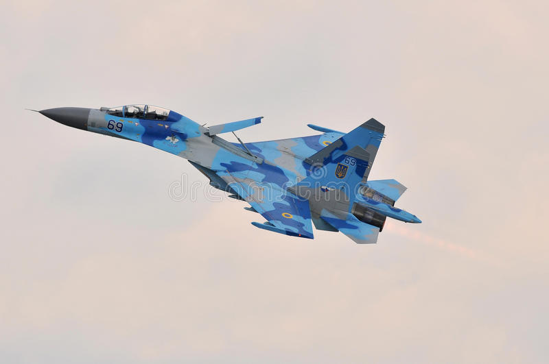 Sukhoi su-27 stock foto's