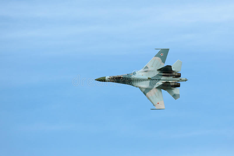 Sukhoi Su-27 photo stock