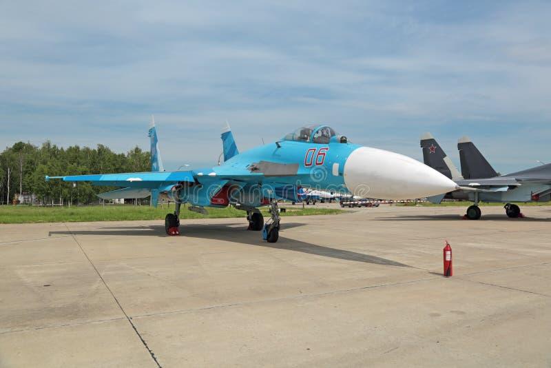Sukhoi Su-27 photographie stock