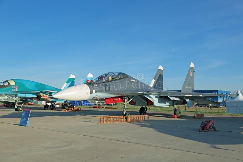 Sukhoi Su-30 SM (flanker-C) стоковое изображение rf