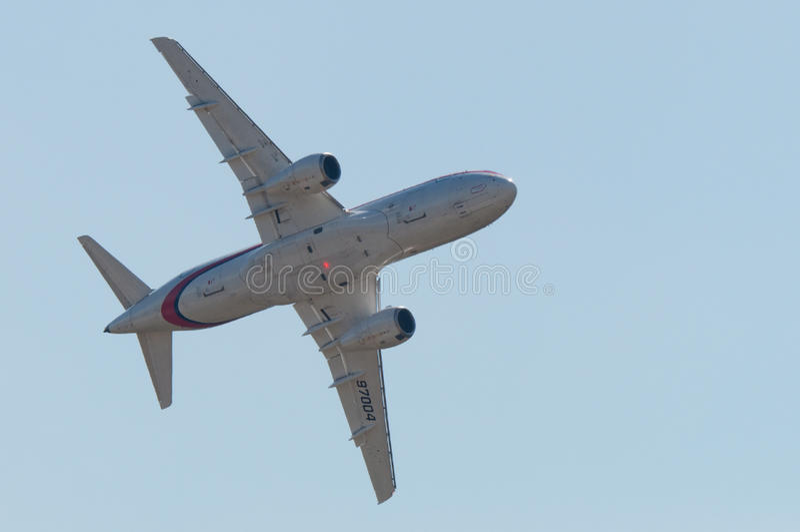 Download Sukhoi Superjet-100 Editorial Stock Image - Image: 24737209