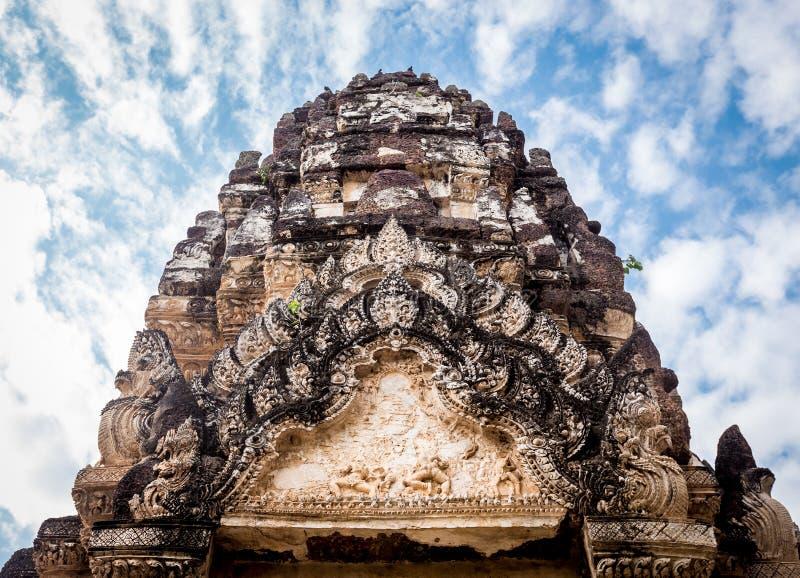 Sukhothai历史公园,泰国的老镇 库存图片