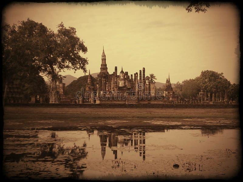 Sukhothai历史公园 库存图片