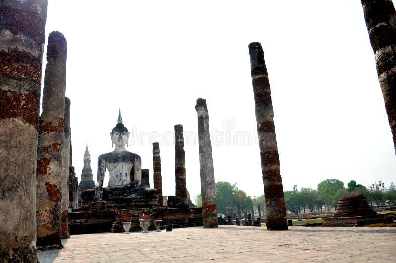 Sukhothai历史的泰国 图库摄影