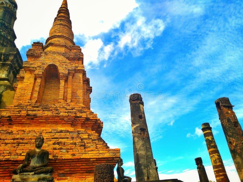 Sukhothai历史 库存照片