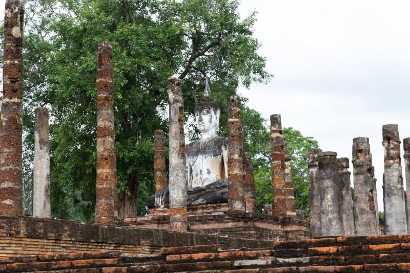 Sukhothai é uma cidade histórica Sukhothai Tailândia do patrimônio mundial do UNESCO do centro imagem de stock
