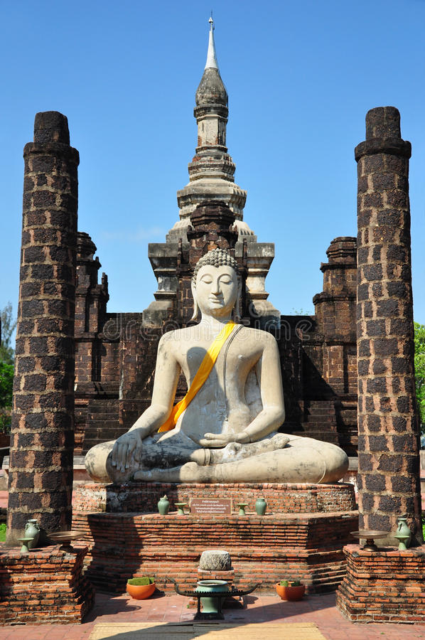 Sukhothai. The anciant city at Sukhothai royalty free stock photography
