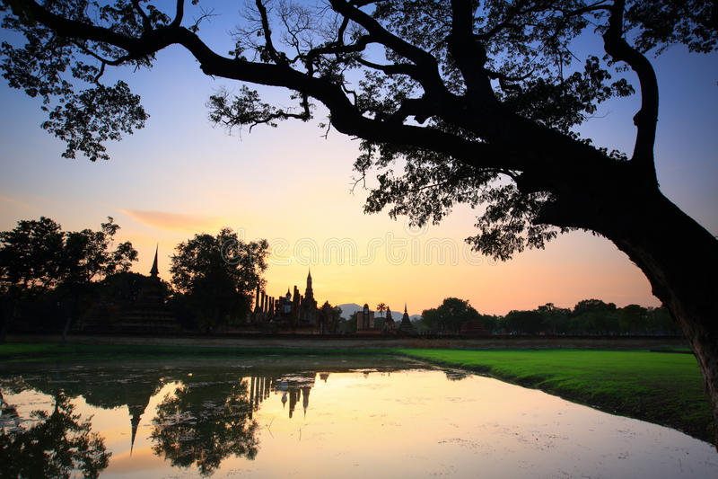 Sukhothai стоковое фото