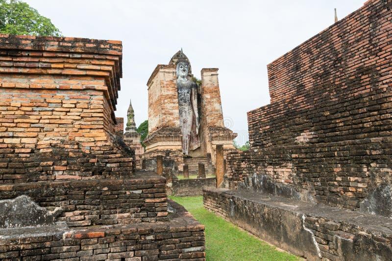 Sukhothai es un centro hist?rico, y la primera capital de Tailandia imágenes de archivo libres de regalías