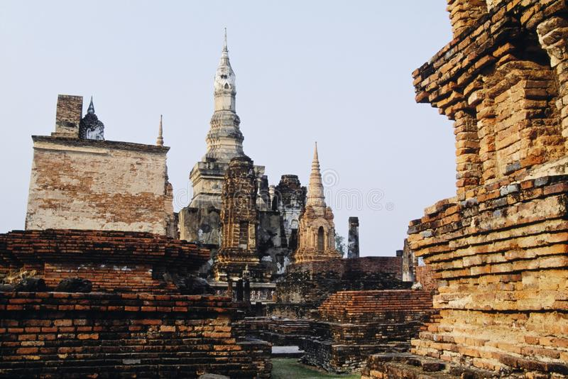 Download Sukhothai Historical Park stock image. Image of outdoors - 16628653