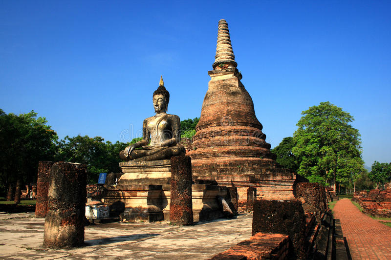 Download Sukhothai Historical Park In Thailand Stock Image - Image: 15414823