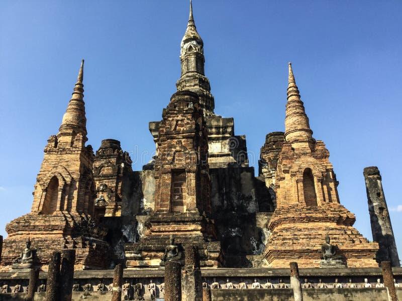 Popular tourist spot Sukhothai history park , sukhothai, thailand stock photography