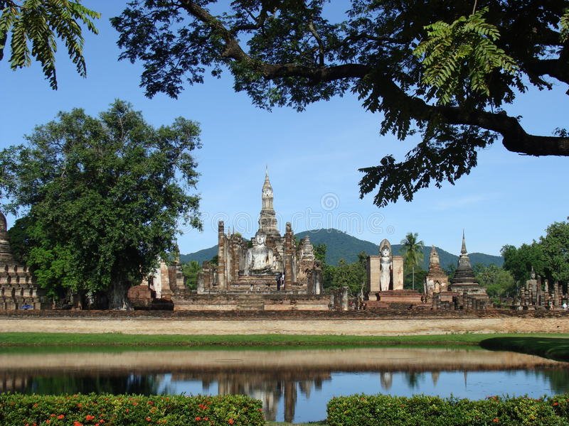 Sukhothai National Park, Thailand stock photography