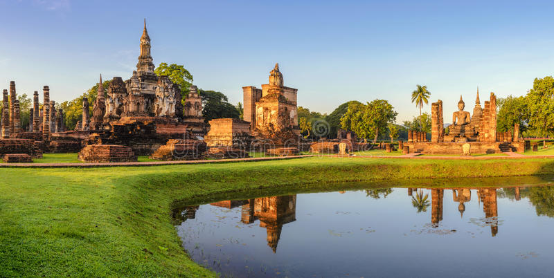 Sukhothai Tailandia imagenes de archivo