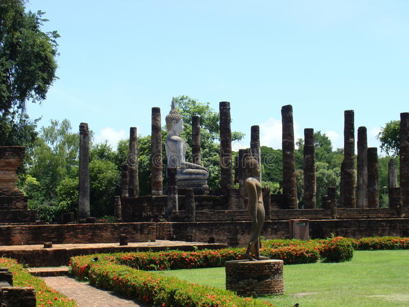Sukhothai, Thaïlande image stock