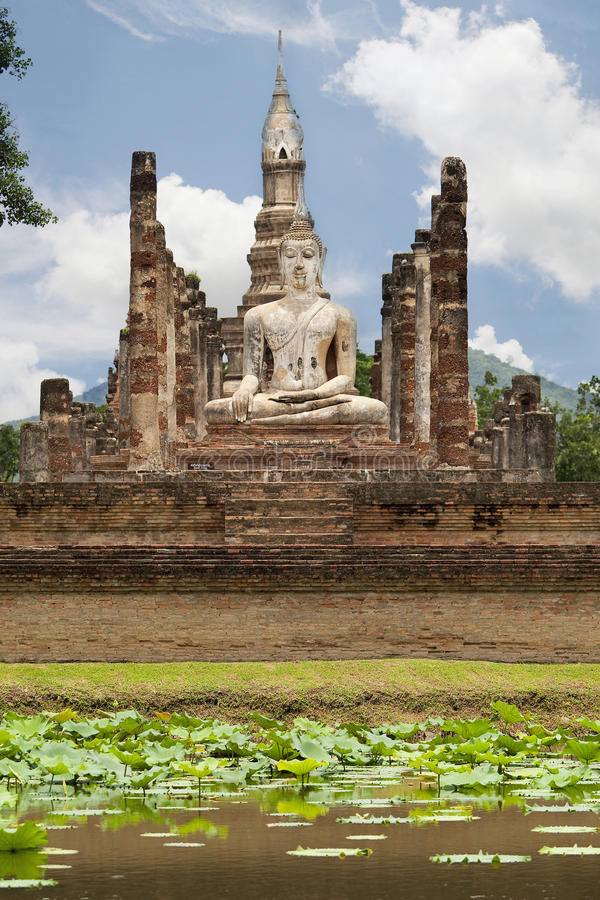 Sukhothai, Thailand. Is the old capital city of Siam stock photos