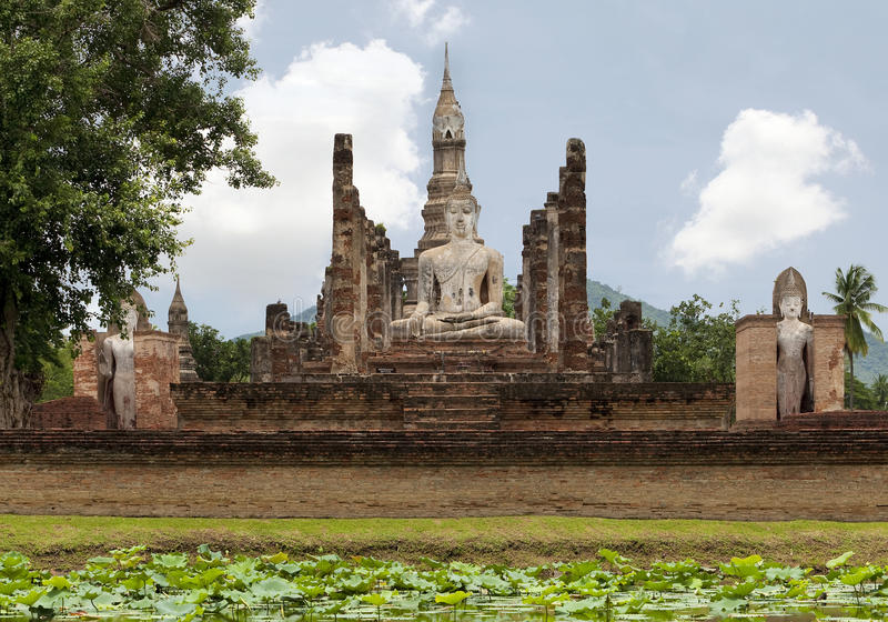 Sukhothai, Thailand. Is the old capital city of Siam royalty free stock image