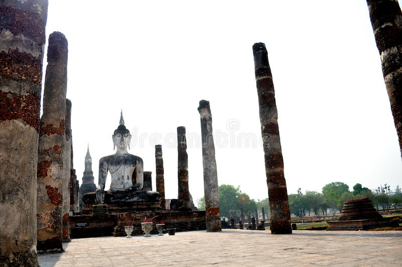 Sukhothai Thailand historic stock photography