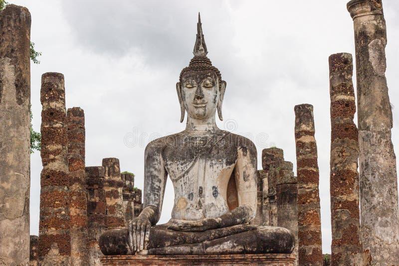 Sukhothai ? um centro hist?rico, e a primeira capital de Si?o imagens de stock royalty free