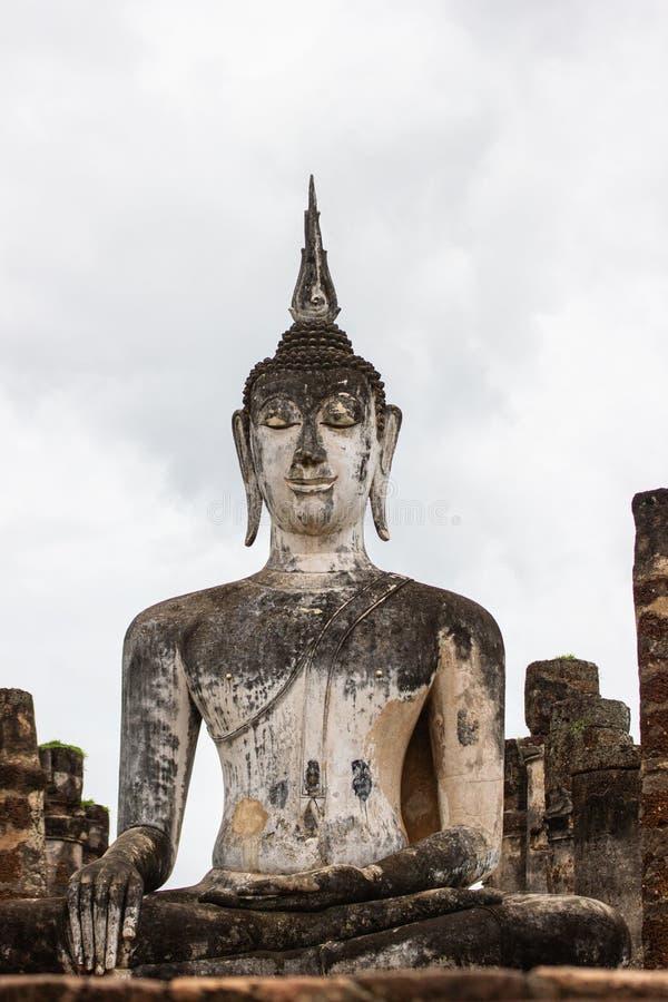 Sukhothai ? um centro hist?rico, e a primeira capital de Si?o imagem de stock royalty free
