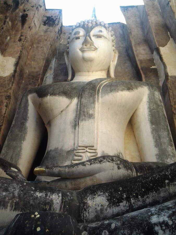 Sukhothai-Wat Sri kmotr fotografia royalty free
