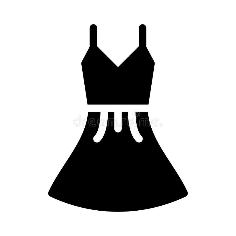Sukiennego glifu płaska wektorowa ikona royalty ilustracja