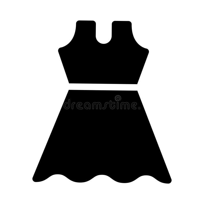 Sukiennego glifu płaska wektorowa ikona ilustracja wektor
