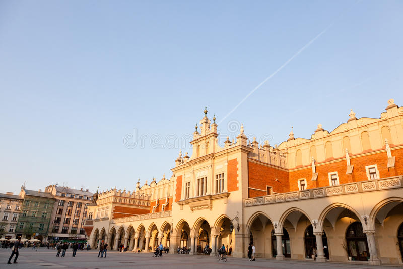 Download Sukiennice stock photo. Image of cracovia, europe, hall - 23607422