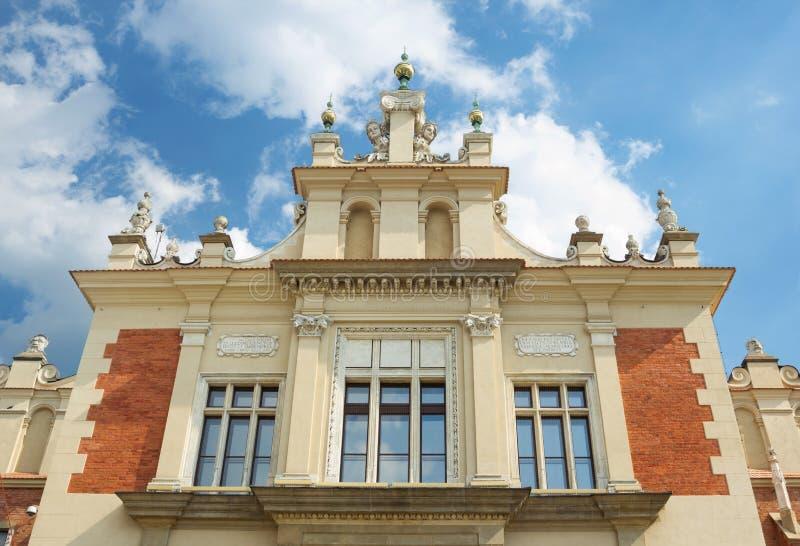 Sukiennice buidning à Cracovie image stock