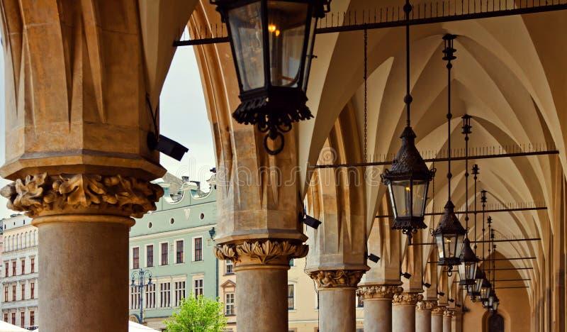 Sukiennice em Krakow imagem de stock royalty free