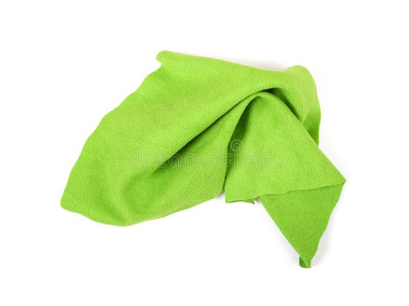 sukienny włókna zieleni mikro zdjęcia royalty free