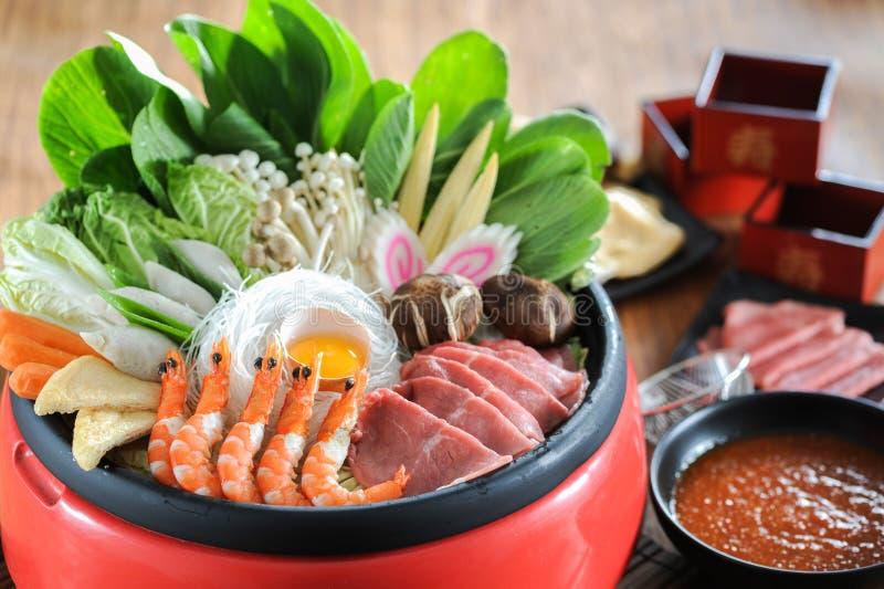 sukiyaki zdjęcie stock