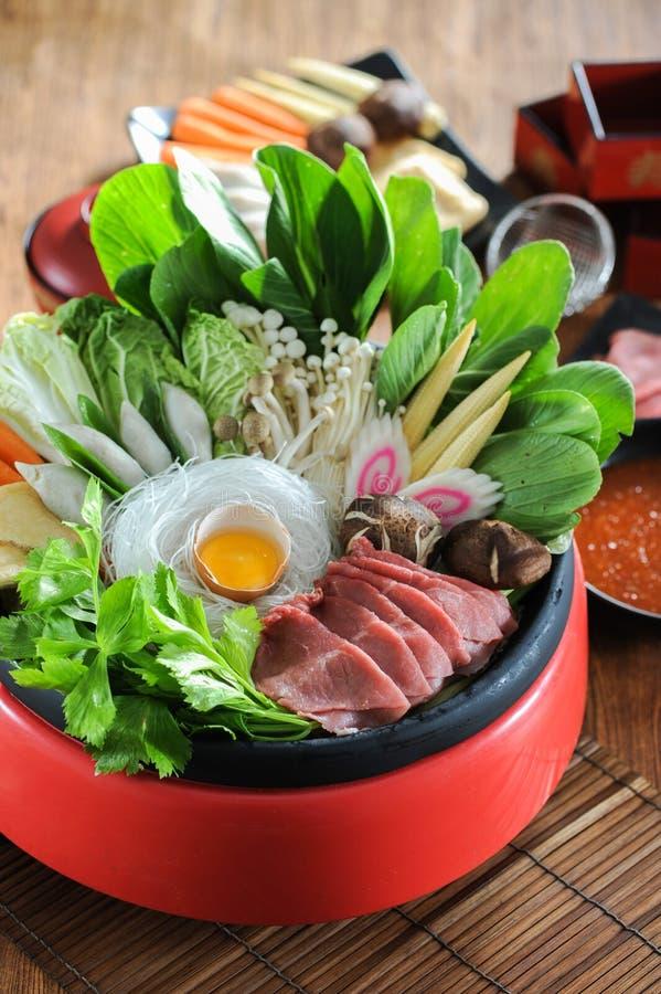 sukiyaki arkivfoto