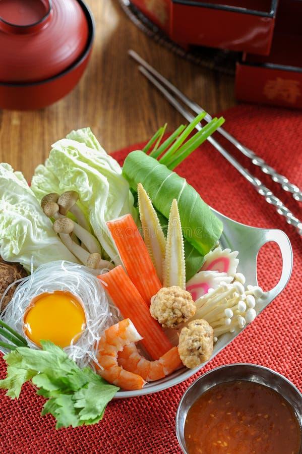 sukiyaki fotografie stock libere da diritti