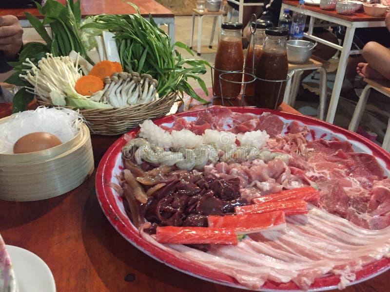 sukiyaki stockbilder
