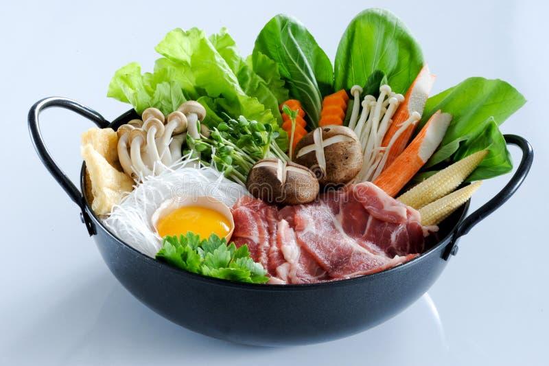 Sukiyaki photo stock