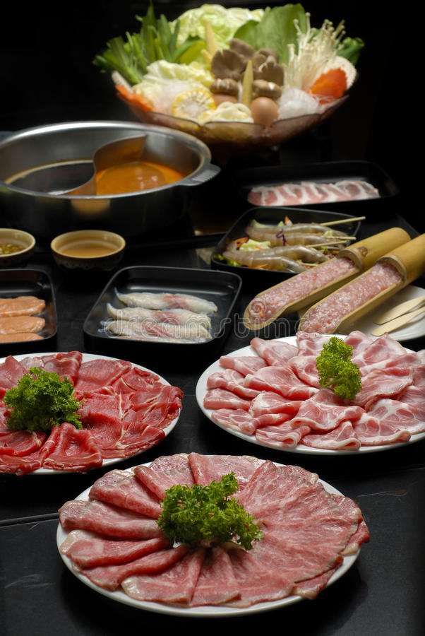 Sukiyaki 库存照片