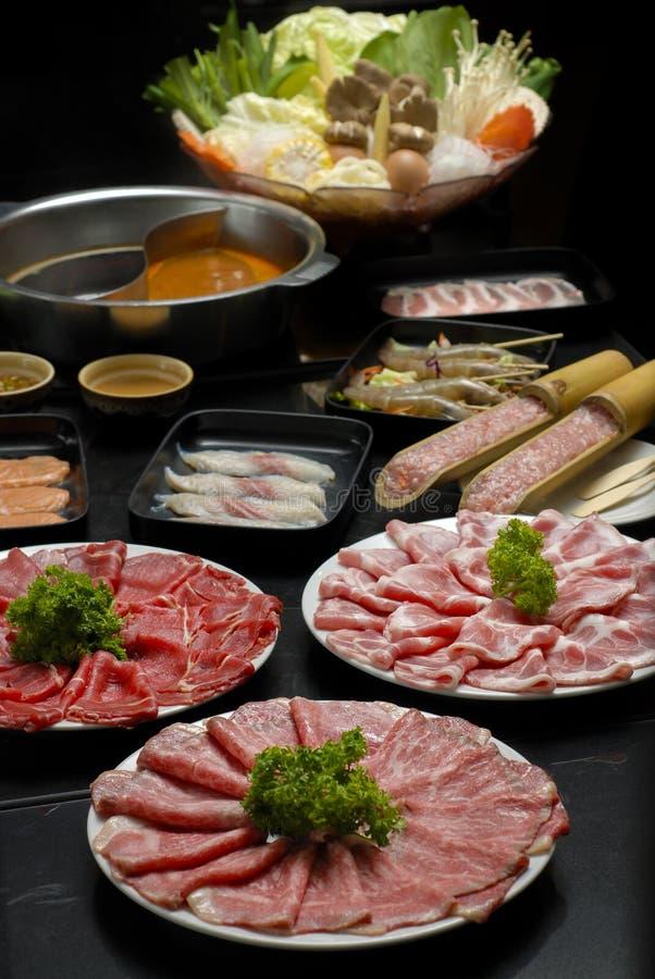 Sukiyaki foto de archivo