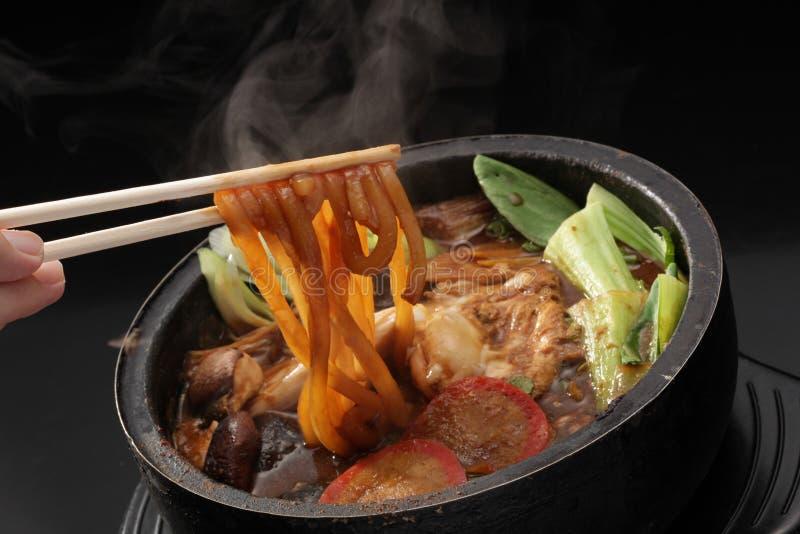 sukiyaki 免版税库存照片