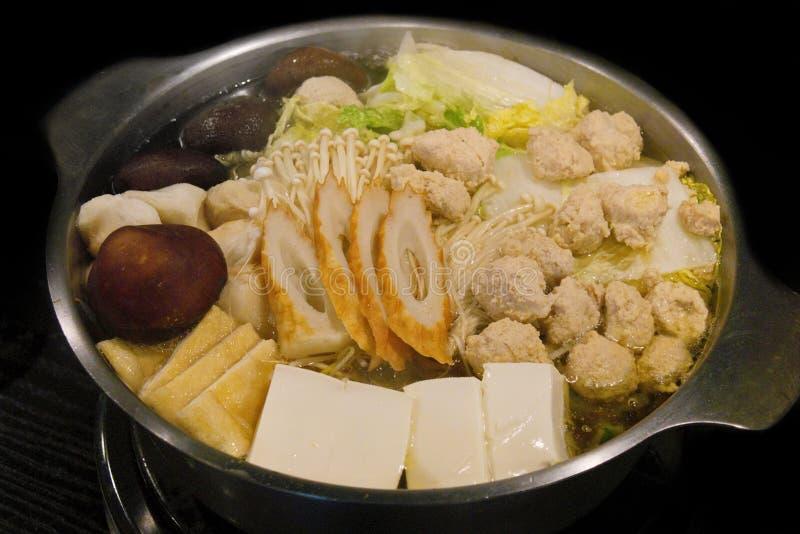 Sukiyaki japonês imagem de stock