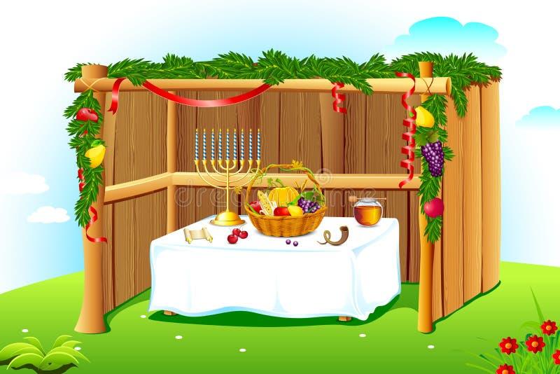 Sukkah adornado libre illustration