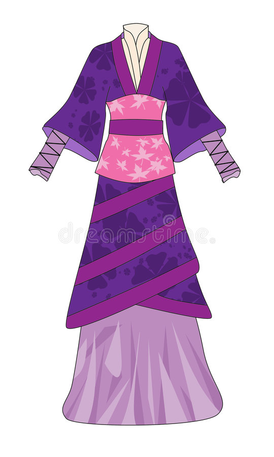 suknia ilustracji