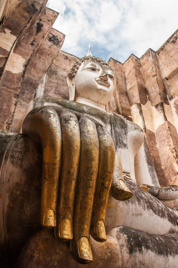 Sukothai historisch park, Unesco-werelderfenis, Thailand stock afbeeldingen