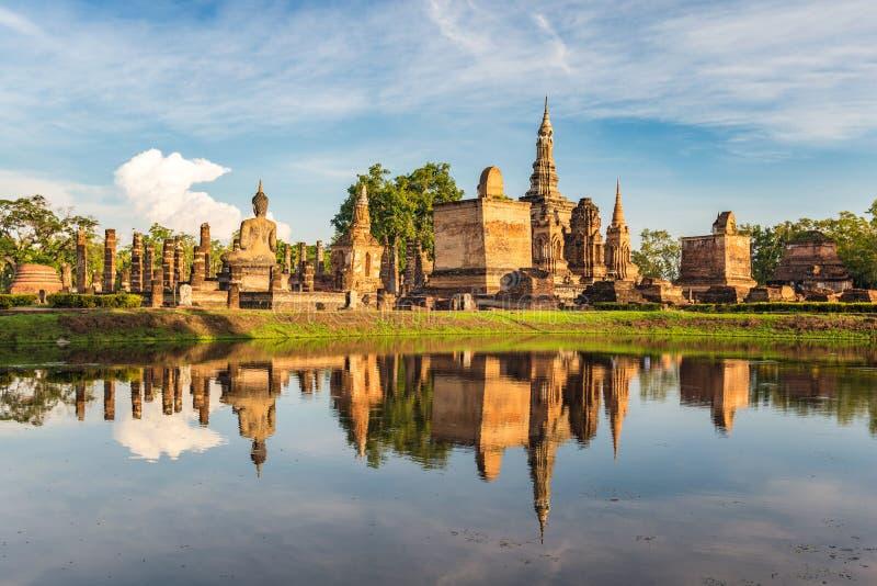 Sukothai, Tailandia imagenes de archivo