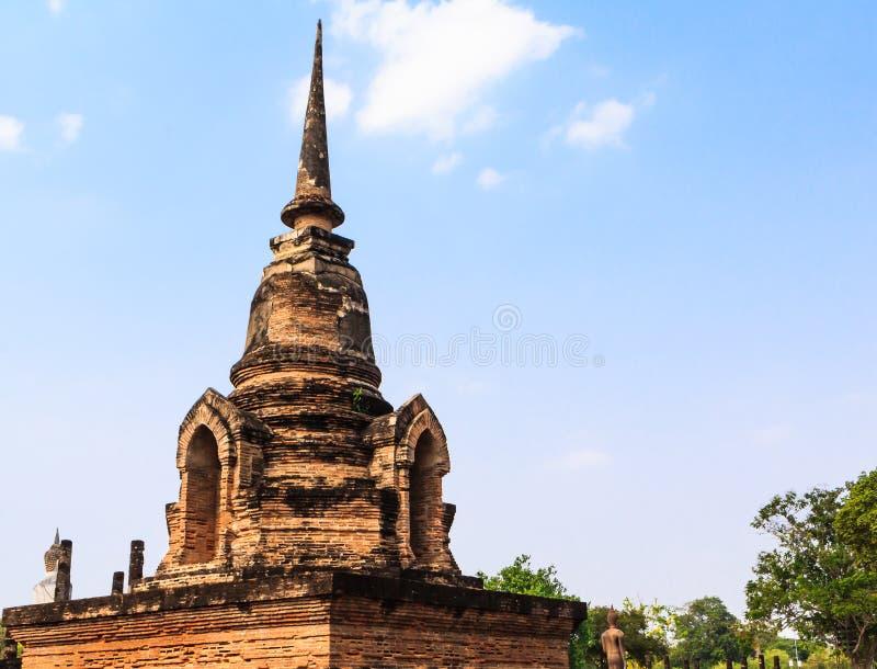 Sukothai temple stock image